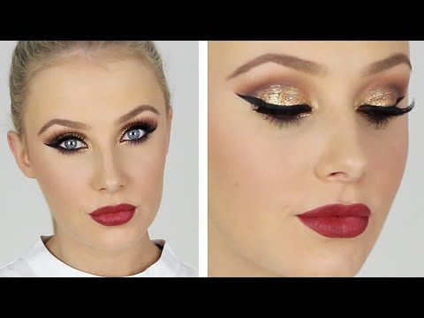 ULTRA GLAM Special Occasion Makeup! This is a super glam and dramatic makeup look which is perfect for a special occasion! If you want a softer look, swap out the red lip for a nude :)