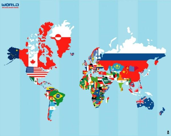 monde-drapeaux