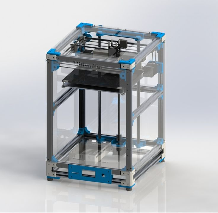 "Disclaimer:  The ""Ultimaker 2 Extended Aluminum Extrusion 3D Printer"" is based on the ""Ultimaker 2 Aluminum Extrusion 3D Printer"" which is designed by Jason a software architect from Austin, Texas, also known as jasonatepaint in the Thingiverse community. Basically the extended version provides more space on the z axis (100mm more). Dimensions of the heated bed are the same as Ultimaker 2 but with the extended version you can build taller objects.  The assembly is made in..."