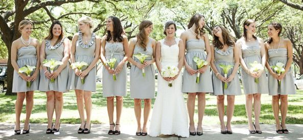 What Colours Not To Wear To A Wedding: 1000+ Ideas About Grey Bridesmaids On Pinterest