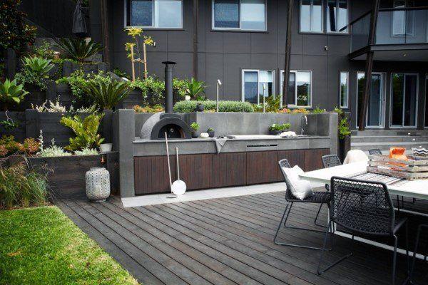 Top 60 Besten Outdoor Kuche Ideen Kuchenchef Inspiriert Hinterhof Designs Deutsch Style Modern Outdoor Kitchen Small Outdoor Kitchens Outdoor Kitchen