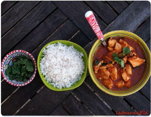 Recette de poulet massala pour mettre un peu d'exotisme et de chaleur dans nos assiettes.