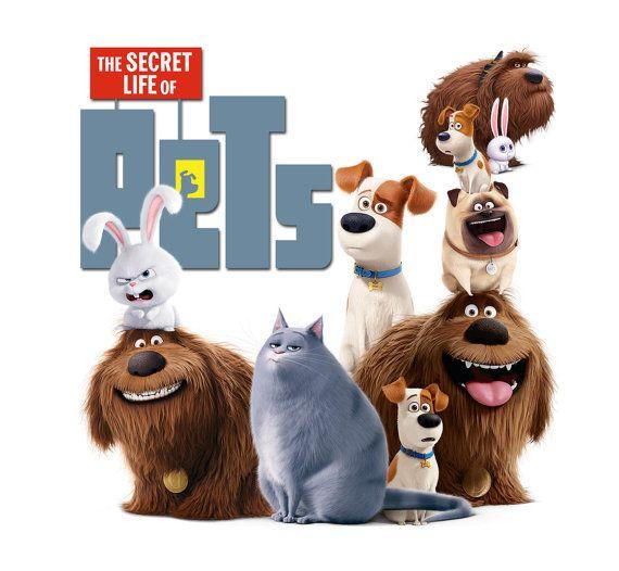 La vida secreta de las mascotas películas 2016 por FoxArtCards