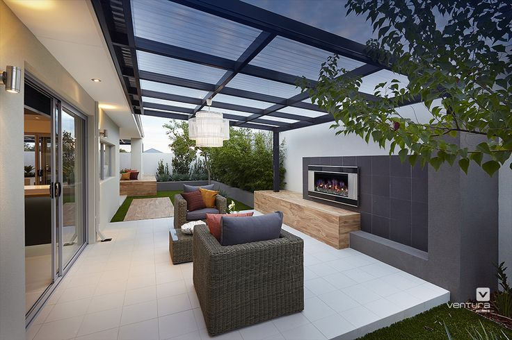 Alfresco Patio Backyard Design The Allure Display Home By