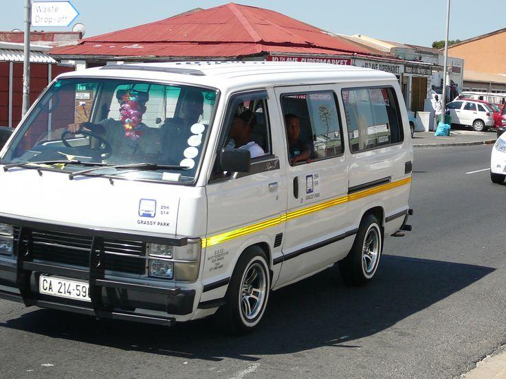 Transport in Cape Town: Mini Van