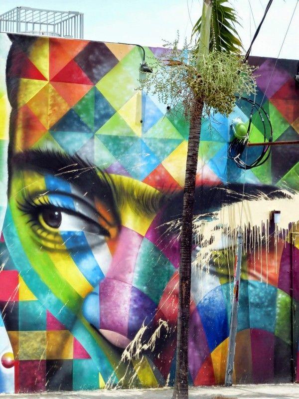 Eduardo Kobra - Art Basel 2013 Miami // photo @vidos - mai 2014 - street-art-avenue