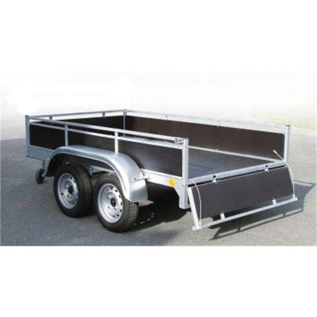 Remorque bois 2 essieux 750 kg DBD