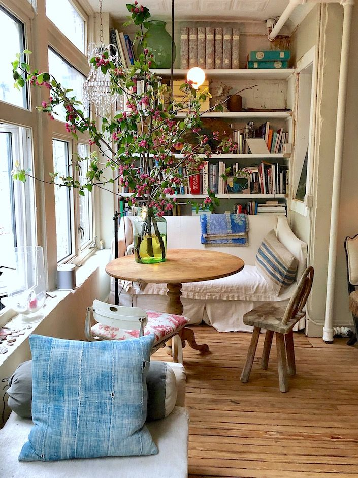 At Home With John Derian In New York City Home Interior Design