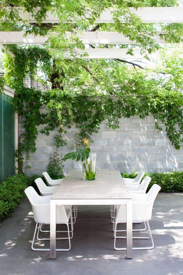 17 best images about jardins espaces ext rieurs - Une terrasse en ville ...