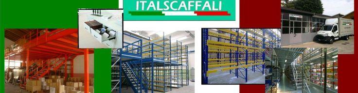 Scaffalature leggere - Italscaffali Lissone Forniture Aziendali