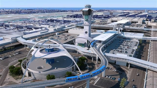 The largest contract ever awarded in Los Angeles to design, build, finance, operate and maintain the APM train system at LAX