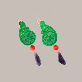 Katerina Psoma earrings....so lovely!