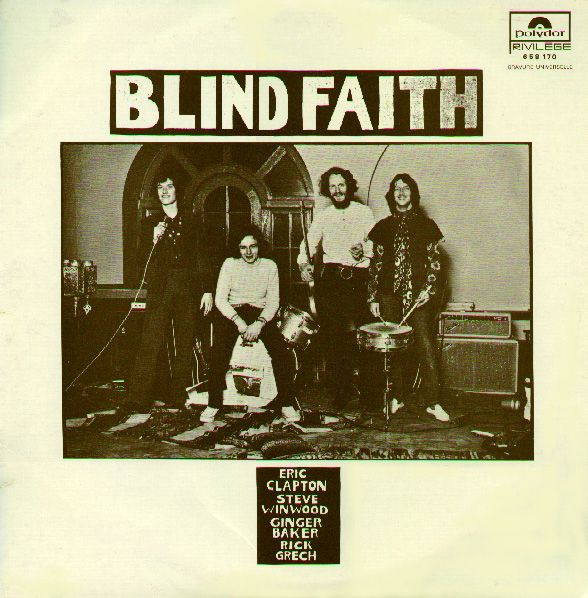 Blind Faith Albums | Blind Faith album cover, Polydor/France, 1973.