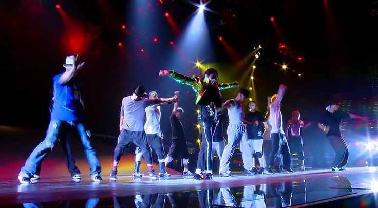 Scene from rehearsal  Michael Jackson's 'This is it'