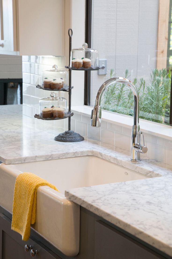 Fixer upper kitchen faucet - As Seen On Hgtv S Fixer Upper Thursdays At 11