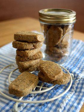 卵・バター不使用。30分できな粉クッキー