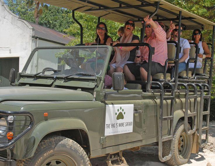 Warwick Wine - The Big 5 Wine Safari, Stellenbosch