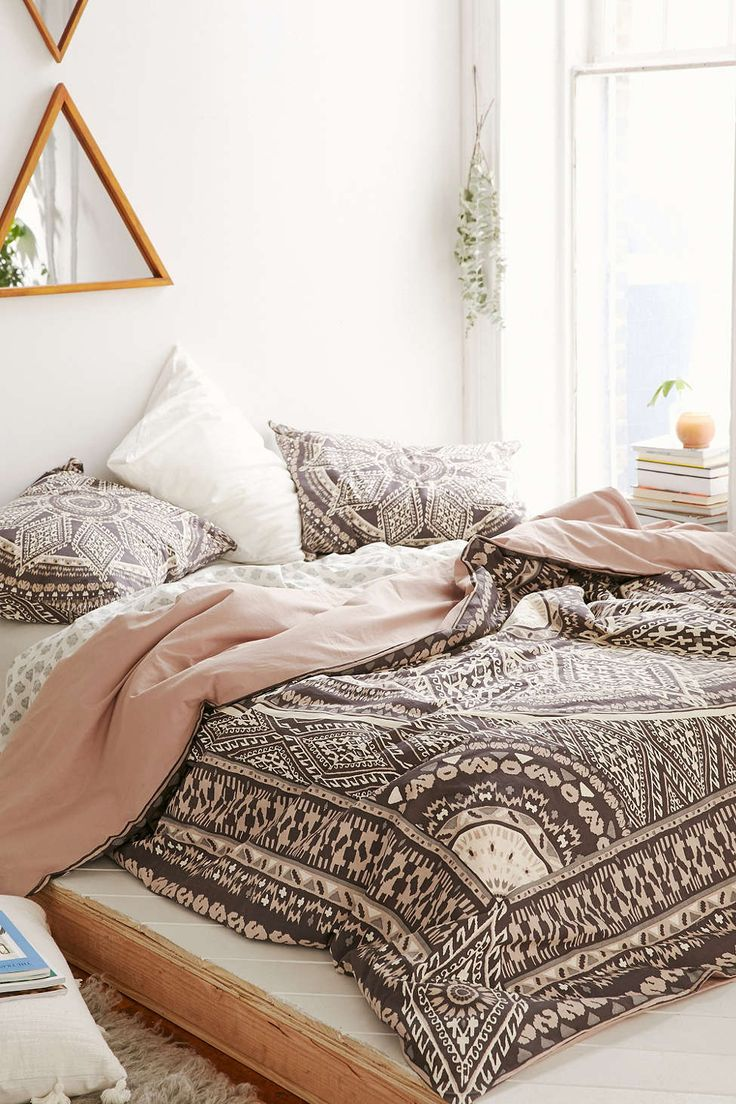 magical thinking petra geo medallion duvet cover urban
