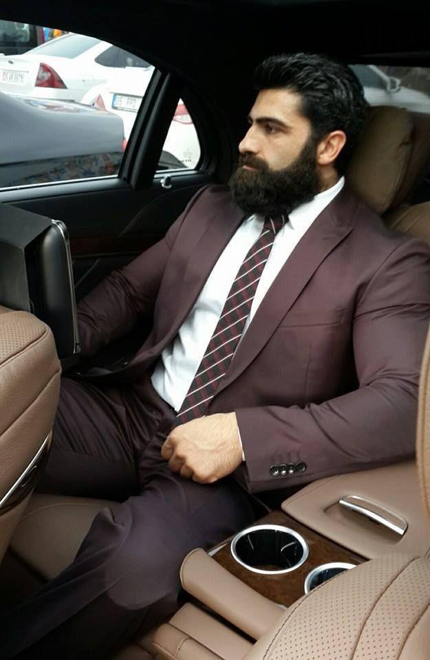 Nice beard and a nice thick cock