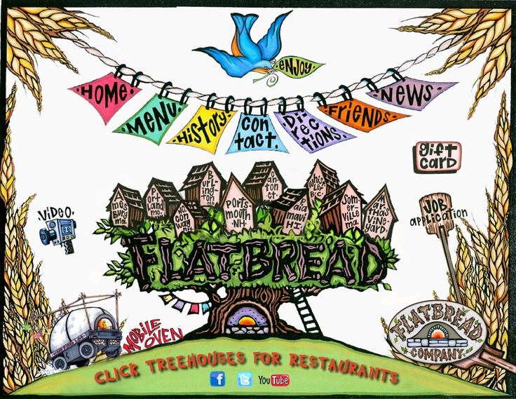 Flatbread Pizza Company:    A small chain, with locations across the country.  2 of them are in Canton, CT and North Conway, NH.  One of the best pizza's I've ever had and the products they use are organic and all natural!  nom nom!