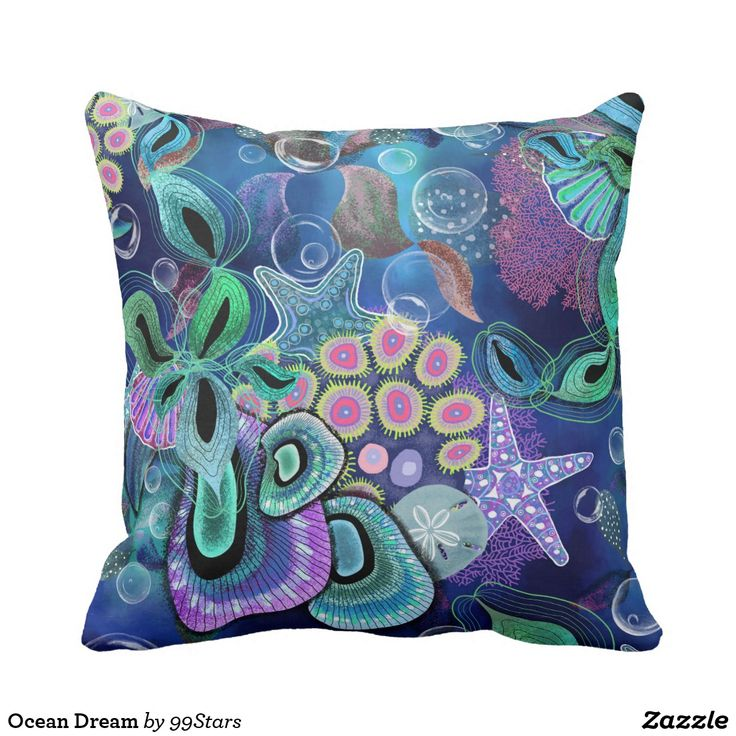 Ocean Dream Throw Pillow