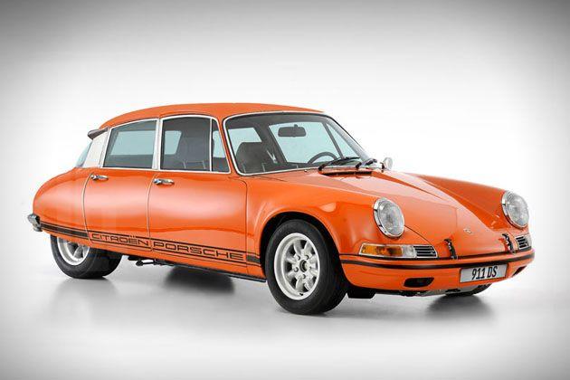 Porsche 911 + Citroen DS