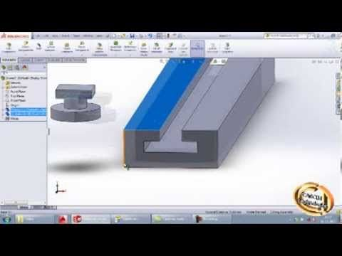 Applying Linear Coupler Assembly Mate in SolidWorks
