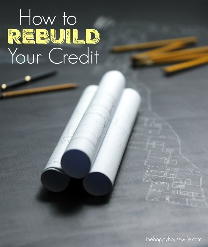 If you made some financial mistakes in your youth and are now looking to rebuild your credit, here are five simple ways to do it.