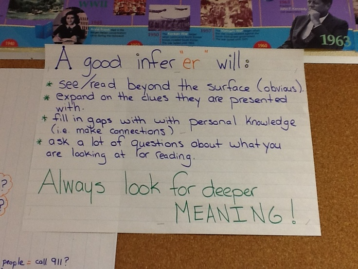 "Inferring Success Criteria (notice how I invent the word ""inferred"" !)"