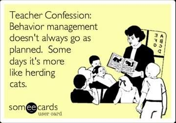 teacher humor. true story yo... I'm laughing at the thought of cats being herded. That shit just doesn't happen.