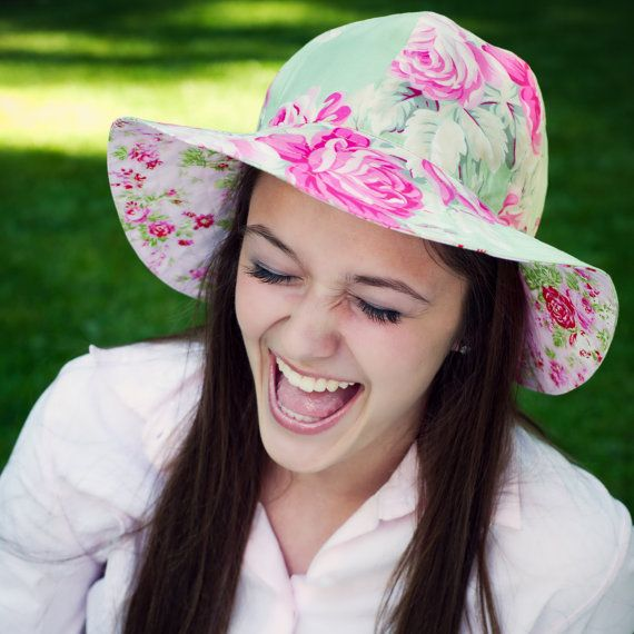 Sun Hat Tutorial and Sewing Pattern for Women  by tiedyediva, $7.95