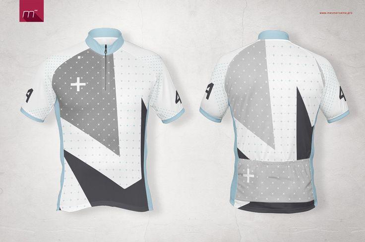Download Short Zip Bike Jersey Mock-up on Behance | Bike jersey ...