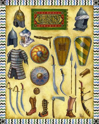 Arms and armours of Mamluk Sultanate of Egypt- 2 nd half of 13 th century