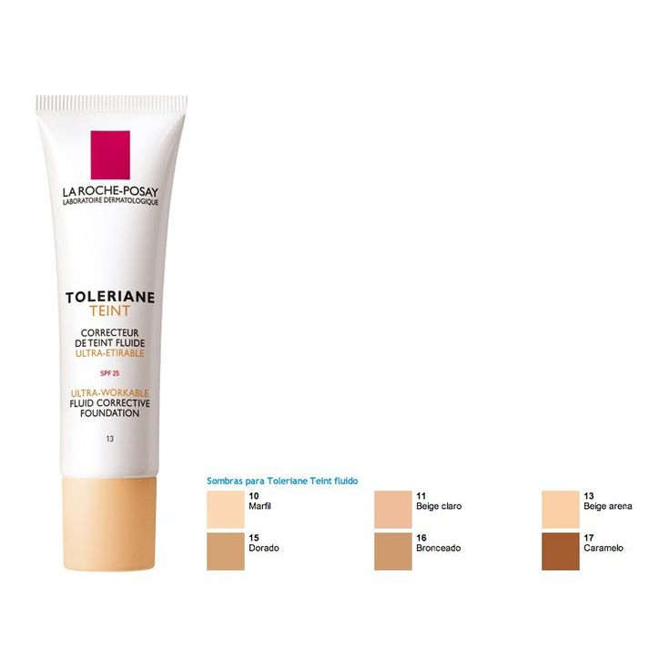 Toleriane Teint Maquillaje Fluido Color Beige Claro (11) La Roche Posay - Clybefarma