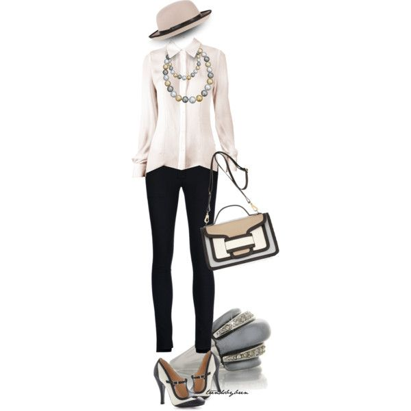 Shoe time travel by trendsbybren on Polyvore