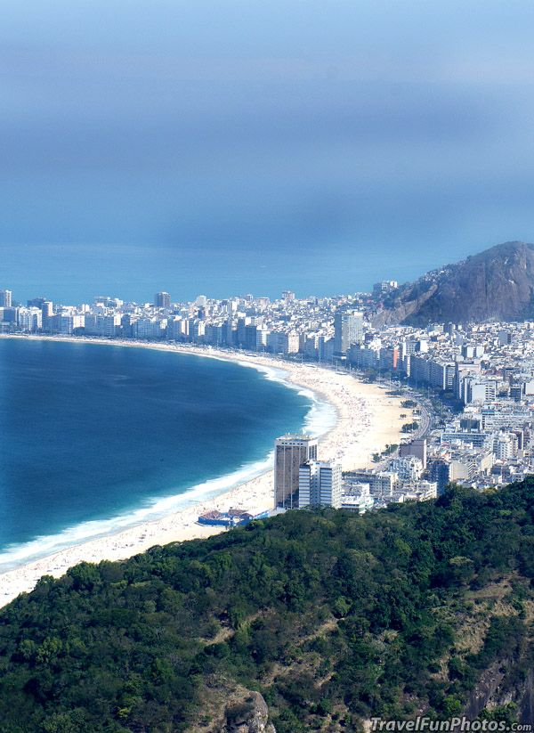 Sea Side in Rio de Janeiro, Brazil Would love to visit here some day