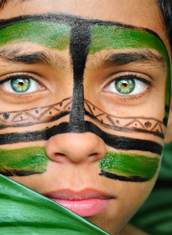 """ Green Eyed Boy from Brazil | source:  CxG ""  photo taken by David Lazar"