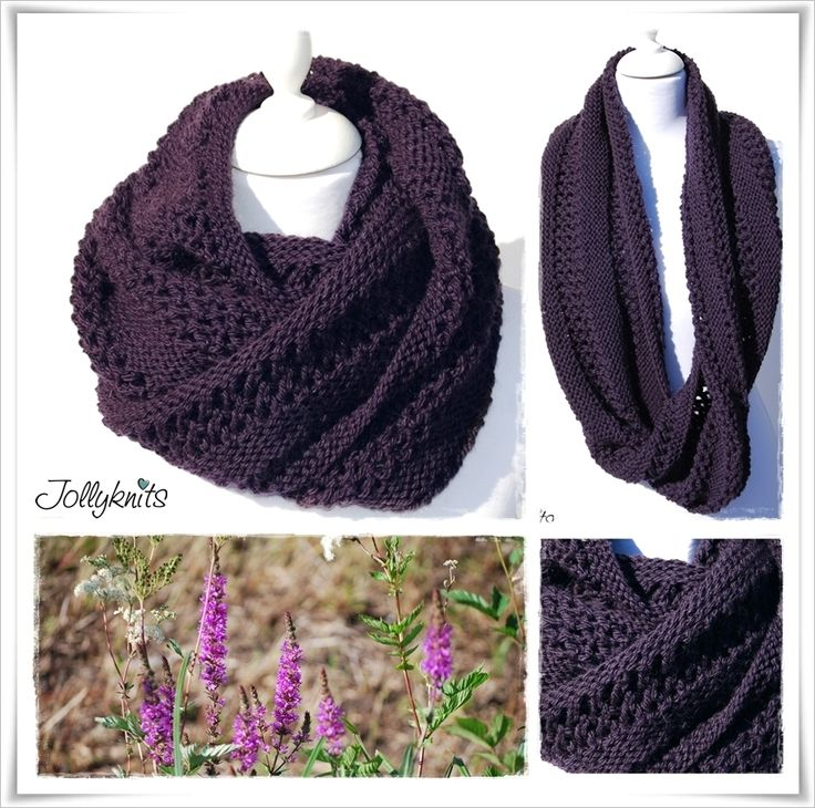 SWANTJE Strickanleitung Loop / Cowl knitting pattern