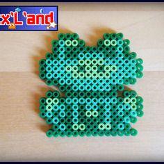 Item custom grenouille smb3 effectue en perles hama midi