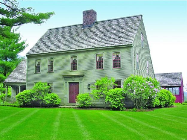30 best images about saltbox style on pinterest house for Saltbox house plan