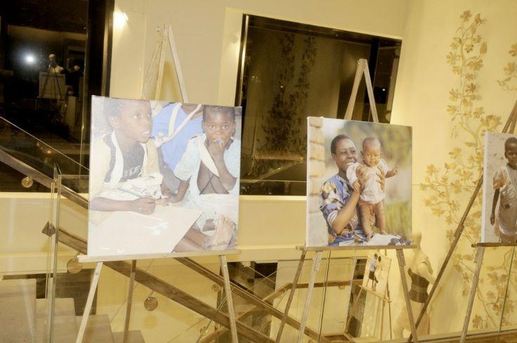 Malawi photographs displayed at the 2009 Max Azria Benefit in New York #MaxAzria #HELPchildren #Malawi #NewYork