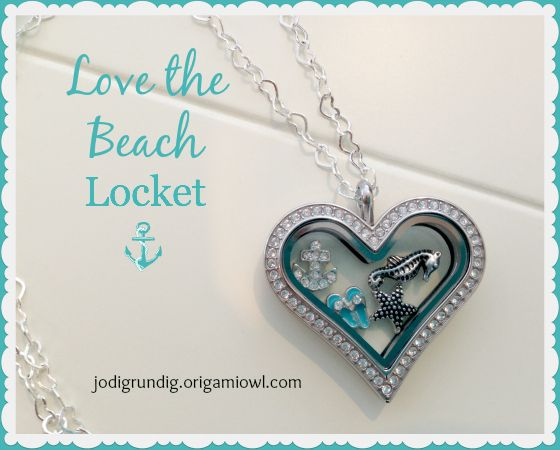 Love the Beach Locket - Click on the pic to order and get it by Valentine's Day if you order before Feb. 4th.
