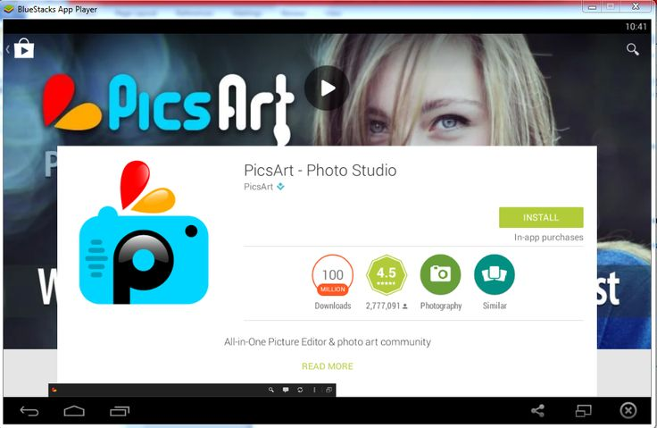 software PicsArt download gratuito para PC