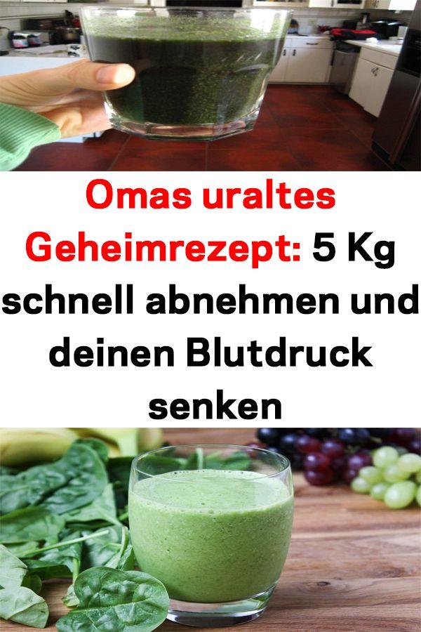 Omas uraltes Geheimrezept: 5 Kg schnell abnehmen und..