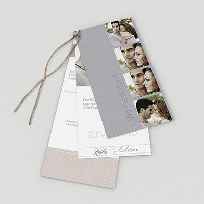 Hochzeitskarte Mehr