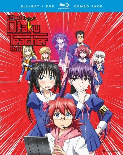 Ultimate Otaku Teacher Season 1 Part 2 Blu-ray Anime Review