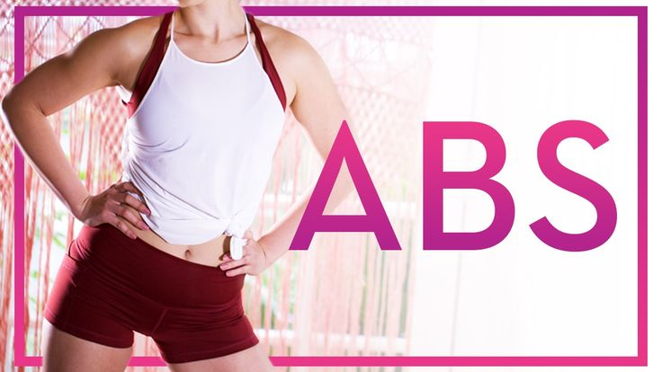 Best Ab Exercises for a Toned Tummy! (At Home No Equipment Exercise Rout...