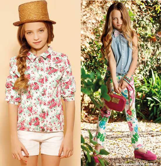 Ropa para ni as verano 2014 moda pinterest summer - Ropa nina 3 anos ...