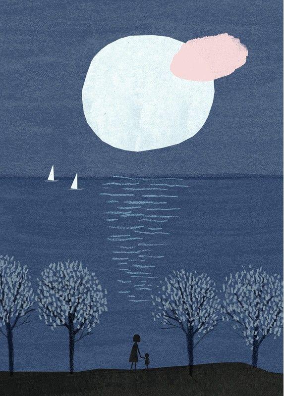 Marika Maijala - Affiche d'Art d'Illustration pour Chambre d'Enfant