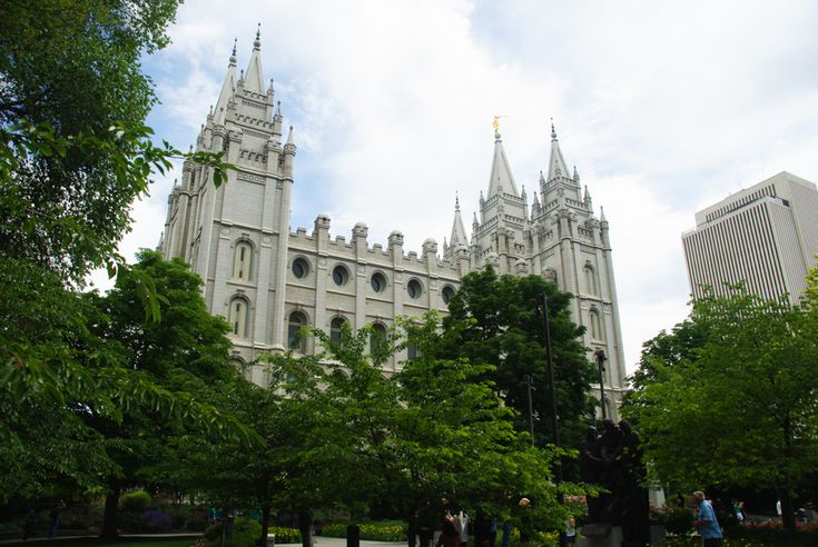 A la rencontre des mormons de Salt Lake City